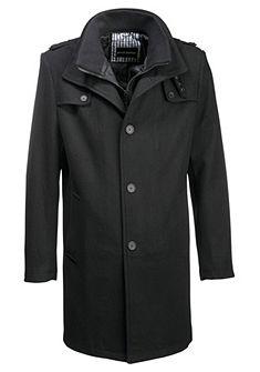 Шерстяное пальто Bruno Banani