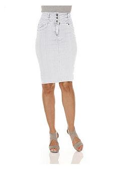 Моделирующая джинсовая юбка