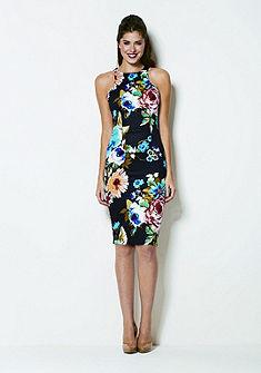 AX Paris Облегающее платье миди с цветочным принтом