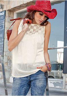 Блузка с кружевами, Aniston