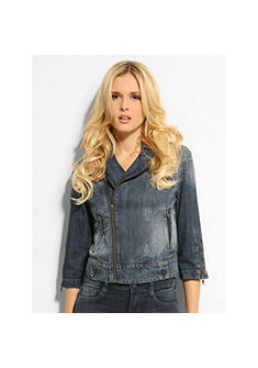 Guess ТОП »Denim Moto Crop«