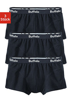 Боксёрские шорты, Buffalo, материал из хлопка стретч (3 шт.)