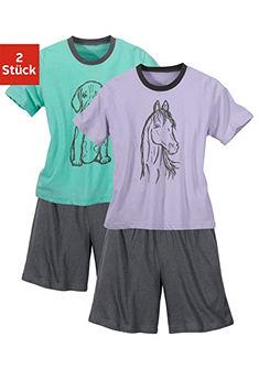 Короткие пижамы (2 шт.)