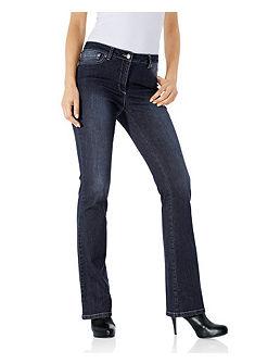 Моделирующие джинсы клеш