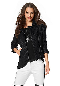 Куртка в байкерском стиле Laura Scott