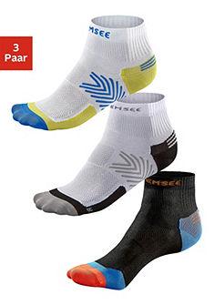 Функциональные короткие носки, Chiemsee, »Running« (3 пары)