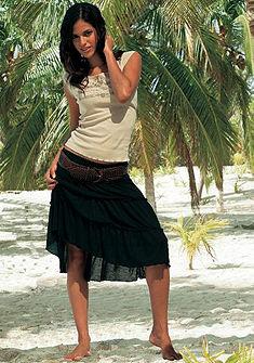 Короткая пляжная юбка