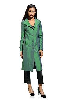 Шёлковое пальто