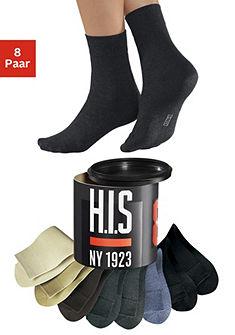 Носки, H.I.S, в стиле «унисекс» (8 пар)