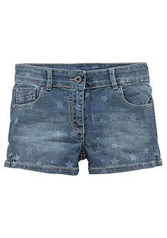 Джинсовые шорты с принтом в виде звёзд для девочек, Arizona