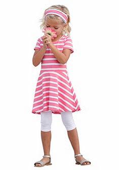 Комплект: платье + повязка на голову + легинсы