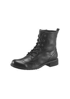 Ботинки на шнуровке Tamaris