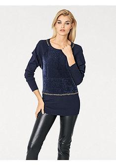 Удлинённый пуловер