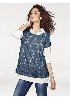 Комплект, 2 части: блузка + топ