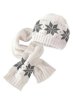Трикотажная шапка и шарф для младенцев, Klitzeklein (2 предмета)