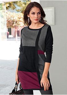 Длинный пуловер или вязаное платье, Vivance Collection
