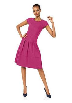 Платье с моделирующим эффектом из джерси