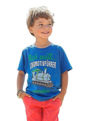 CFL, футболка для мальчиков - CFLПринт с дерзкими надписями спереди. Винтажный эффект. 100 % хлопка.<br><br>color: королевский синий<br>gender: male<br>material: baumwolle,eud