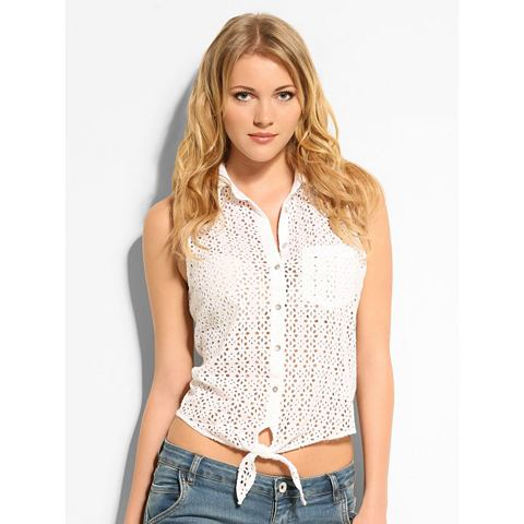Guess ТОП »Eyelet Button Up«