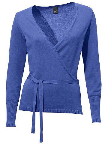 Пуловер с эффектом «запаха» Женская одежда/categories/pullovers