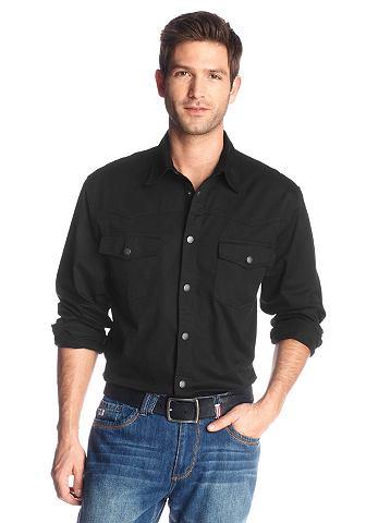 Джинсовая рубашка, Arizona. Цвет: чёрный
