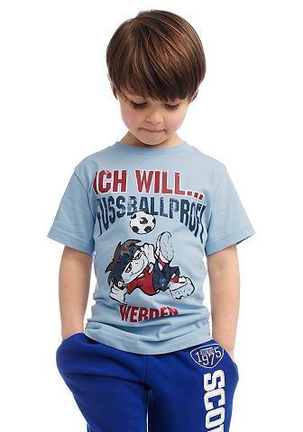 Футболка, CFL, «Ich will Fussballprofi werden» Новые поступления/baby_boyswear