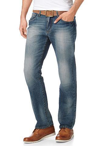 Bruno Banani, джинсы «Ronson» BANANI. Цвет: синий «потёртый»