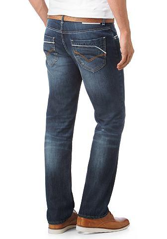Bruno Banani, джинсы «Raphael» BANANI. Цвет: тёмный потёртый