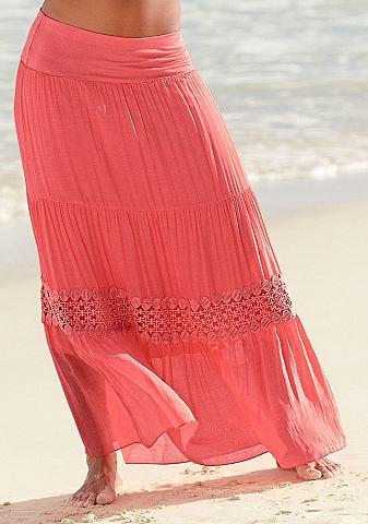купить длинную пляжную юбку вариантов