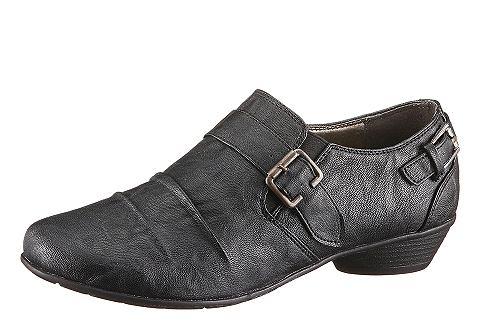 Туфли, City Walk - CITY WALK - CITY WALKТуфли, City Walk. Искусственная кожа. Подкладка: синтетика. Стелька и подошва из синтетики, каблук высотой 2,5 см. Ширина колодки: ширина F (классическая).<br><br>color: чёрный<br>gender: female