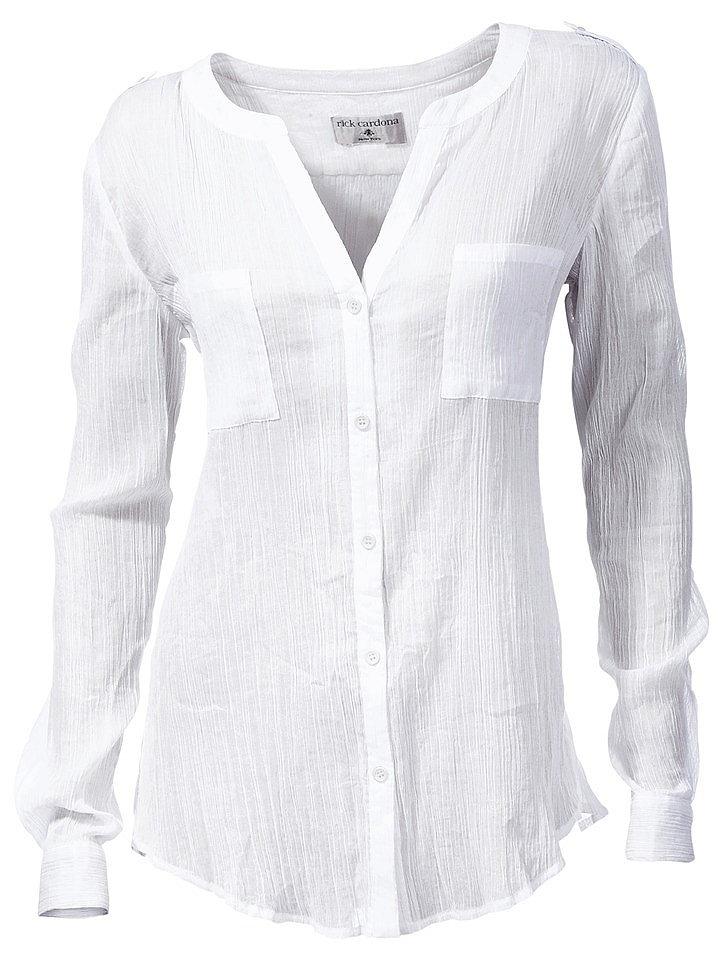 Блузка Из Жатого Хлопка Купить