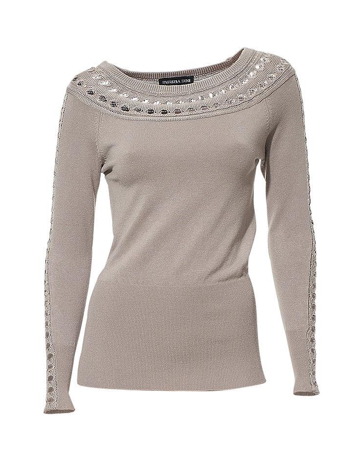 Пуловер С Воротником Лодочка Доставка