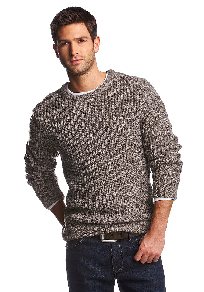 Меланжевый Пуловер Мужской С Доставкой
