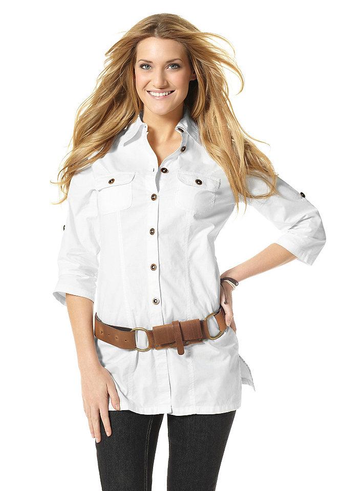 Белая Блузка С Ремешком