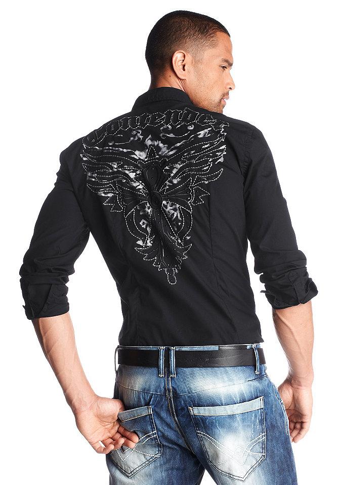 Рубашки с вышивкой на спине