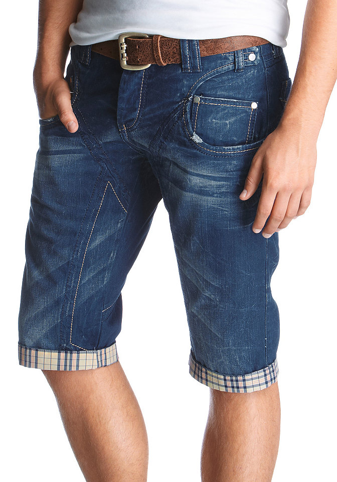 Бермуды из джинс своими руками