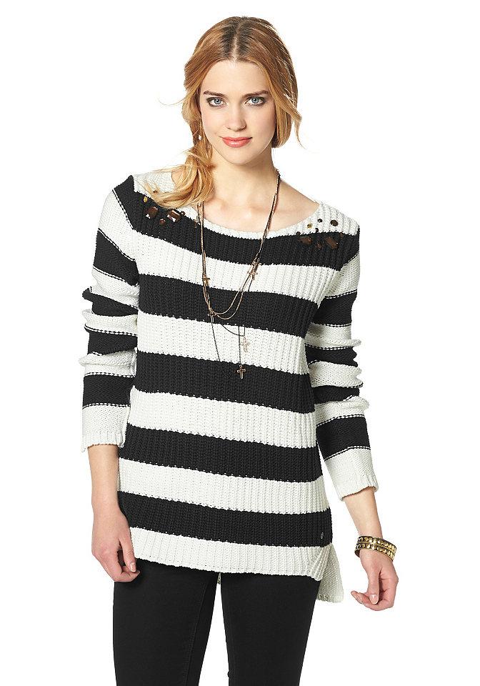 Пуловер с асимметричным низом доставка