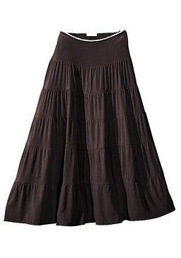Длинная пляжная юбка