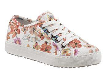 Ботинки на шнуровке Tom Tailor с цветочным принтом