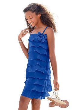 Нарядное платье с воланами CFL