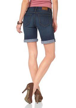 Джинсовые шорты с 5-ю карманами и заниженной линией талии Arizona