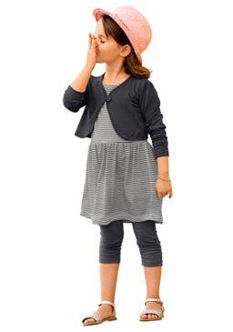 Комплект: болеро + платье + легинсы