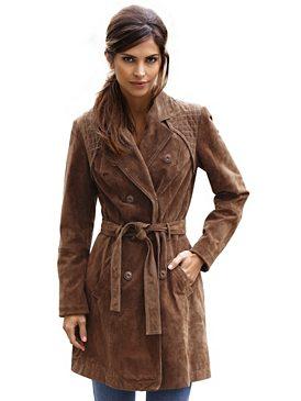Велюровое пальто