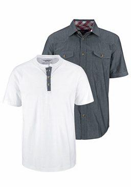 Комплект: рубашка + футболка