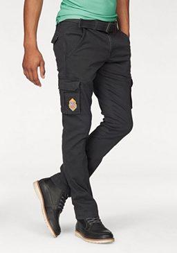 Комплект: брюки карго + ремень