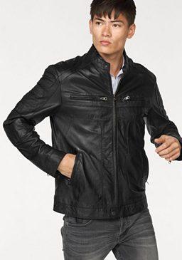 Bruno Banani кожаная куртка »Lynx«