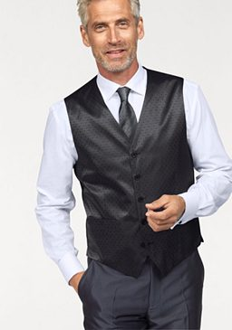 Комплект: жилет + галстук + платок