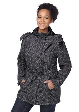 H.I.S, короткое пальто из материала софтшелл