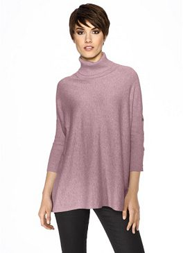 Пуловер большого размера