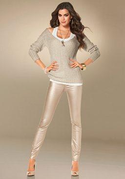 Laura Scott, пуловер с V-образным вырезом